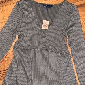 NWT American Eagle olive green Fall Dress